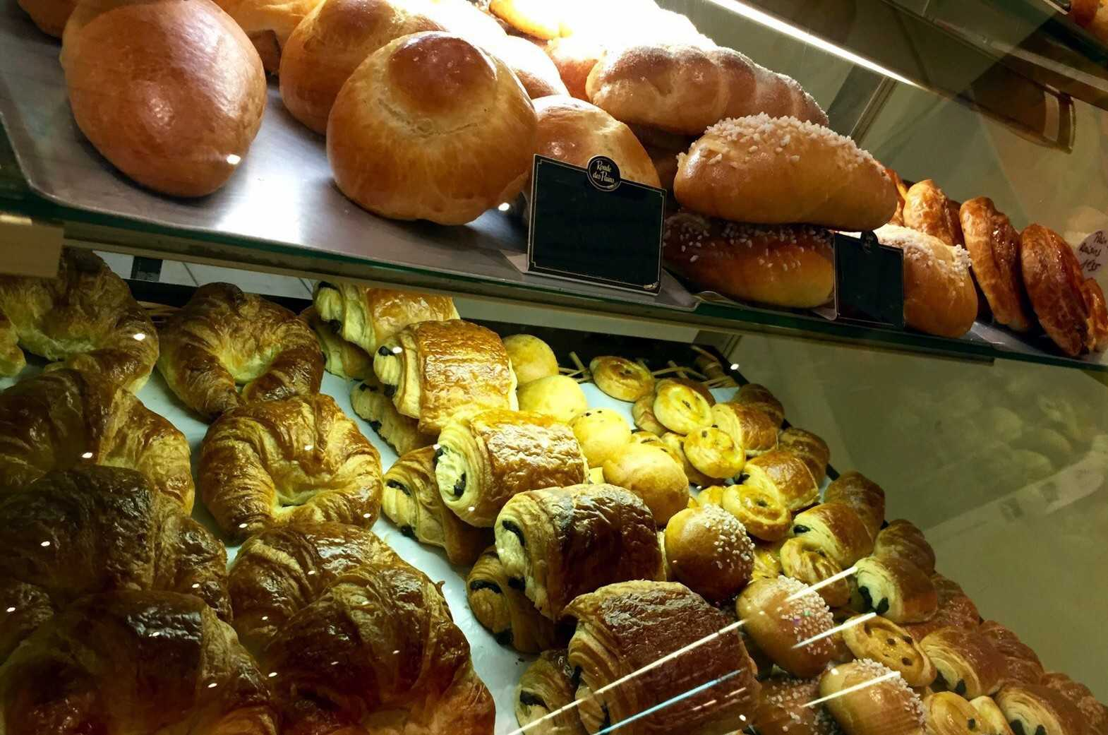 Croissants and Breakfast pastries
