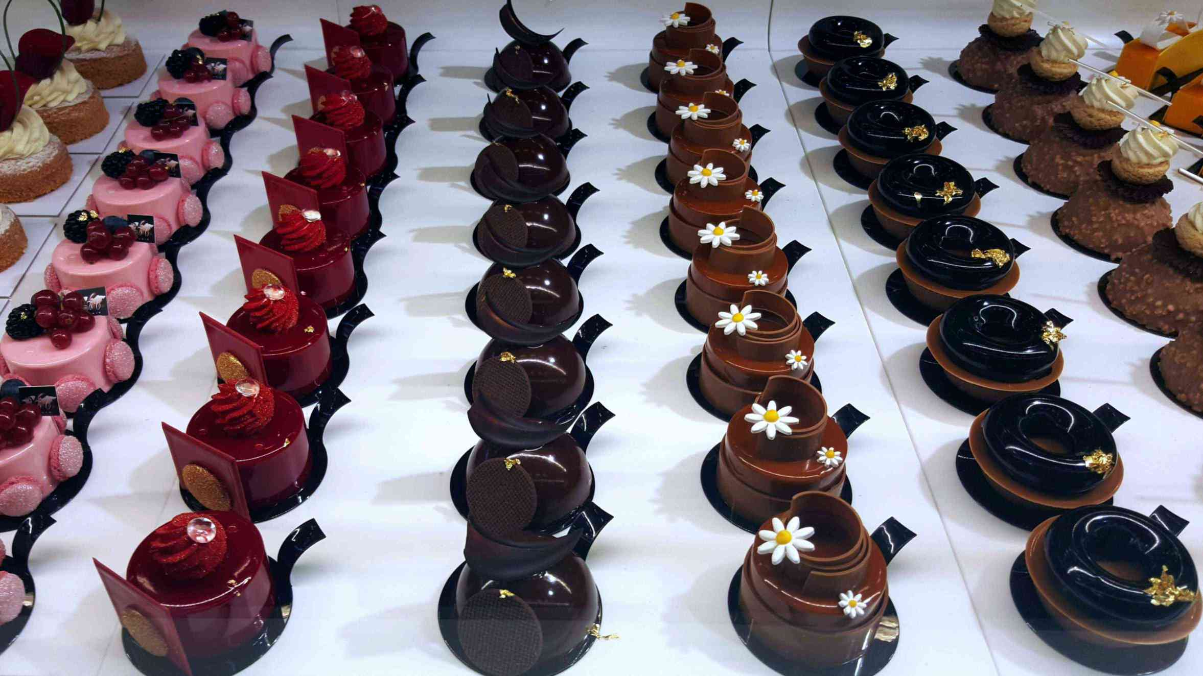 Small cakes by Chef Jean Yves Duperret